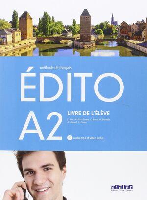 EDITO A2 ELEVE+CD+DVD