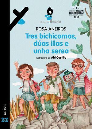 TRES BICHICOMAS, DúAS ILLAS E UNHA SEREA