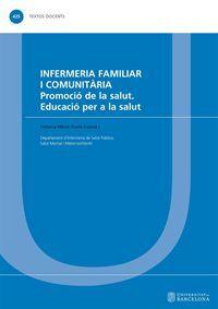 INFERMERIA FAMILIAR I COMUNITÀRIA. PROMOCIÓ DE LA SALUT. EDUCACIÓ PER A LA SALUT