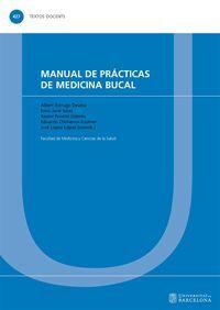 MANUAL DE PRÁCTICAS DE MEDICINA BUCAL