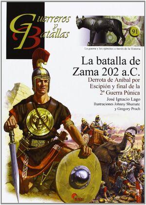 LA BATALLA DE ZAMA 202 A.C.