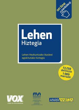LEHEN HIZTEGIA