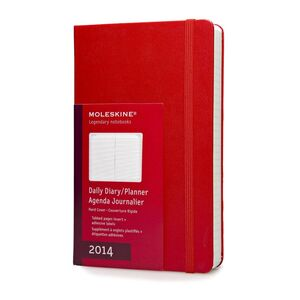 2014 DAILY DIARY -L- RED