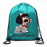 BOLSA DE CUERDAS MAFALDA ¡ESTOY INDIGNADA!